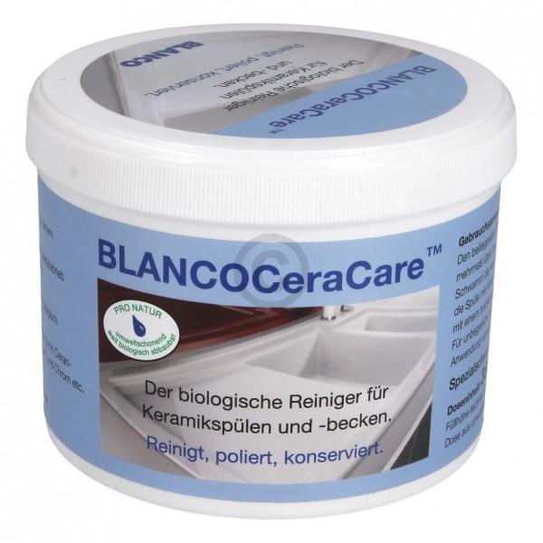 Blanco Reinigungspulver BLANCO CeraCare 519080 mit Schwamm für Keramikspüle Keramikbecken Bad Küche