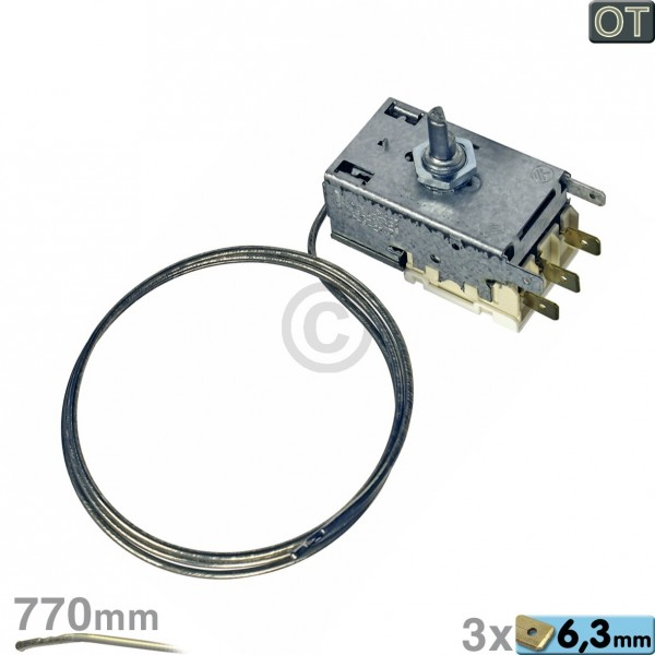 Electrolux Thermostat K59-L2027 Ranco Electrolux 226230816/2 für Kühlschrank