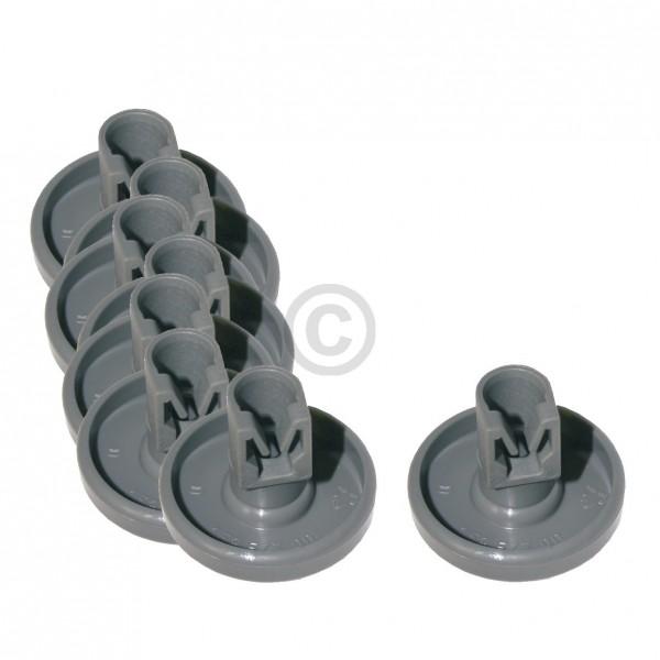 Electrolux Korbrolle 5028696500/4 für Unterkorb Geschirrspüler 8 Stück