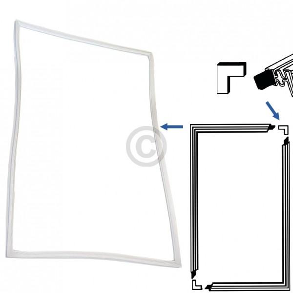 Europart Türdichtung Universal 2000x1000 mm Set zum Einschrauben in Kühlschrank