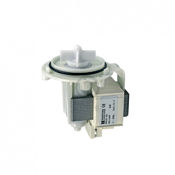 Europart Ablaufpumpe universal Pumpenmotor HANNING mit Schraubenbefestigung für Waschmaschine Wascht