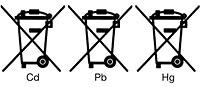 Batteriesymbole
