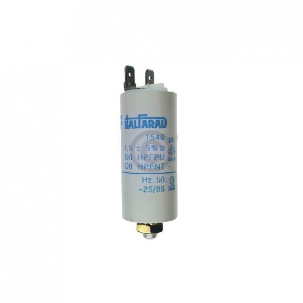 Europart Kondensator 1,50µF 450V Universal mit Steckfahnen und Befestigungsschraube u.a. für Trockne