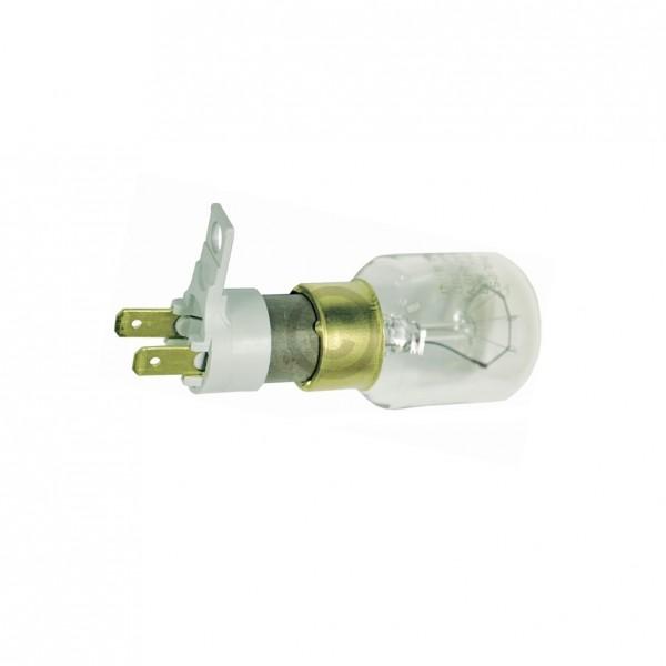 Europart Lampe 25W 230/240V AEG 899661917313/2 mit Befestigungssockel 2x4,8 mmAMP für Mikrowelle