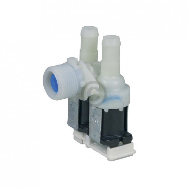 Europart Magnetventil wie 481227128558 2-fach 90° 14,0mmfür Waschmaschine