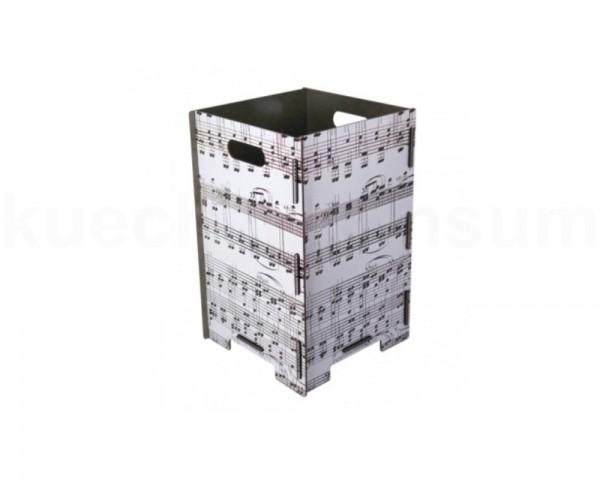 Werkhaus Papierkorb PP9052 gross Noten 260 x 260 x 410 mm