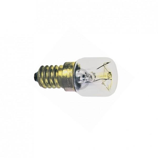 Europart Lampe E14 15W Universal 25 mm 57 mm 240V 300Grad für Backofen Kühlschrank etc