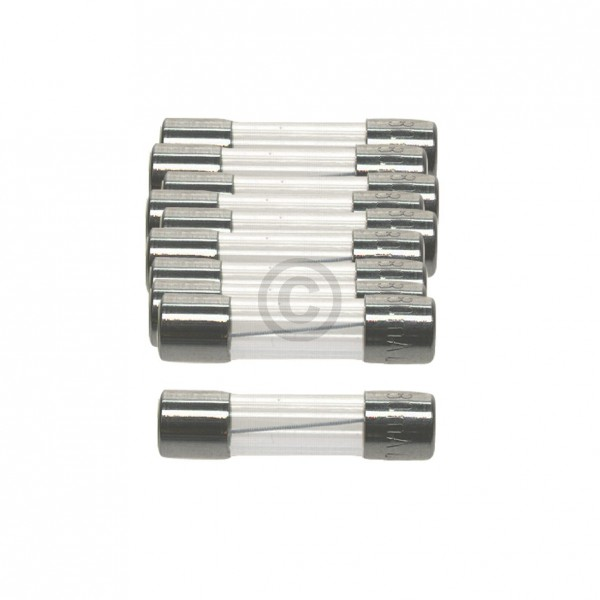 Europart DIN-Sicherung 3,15A träge 5x20mm Feinsicherung 10Stk