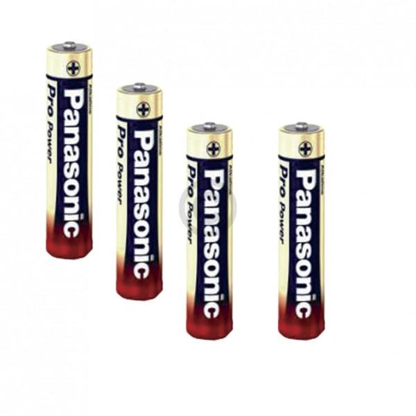 Panasonic Batterie Micro LR03PPG 00265999 Alkali-Mangan AAA SizeS 4Stk
