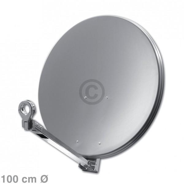 Europart SAT-Antenne 100 cm anthrazit