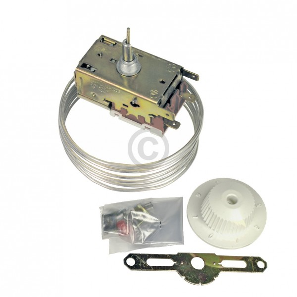 Europart Thermostat Ranco VP111 K60-L2025 Universal für Kühlschrank 3Sterne mit Abtaudruckknopf