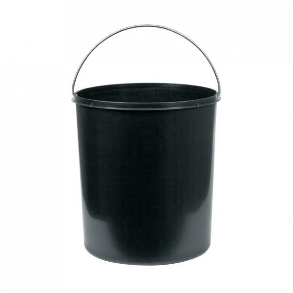 Hailo Inneneimer 272 x 305 mm 15 Liter Hailo 1082629 schwarz für Einbau-Abfallsammler rund