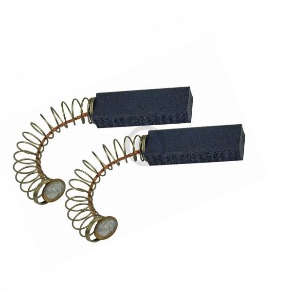 Europart Kohlen 6,4x10x31mm mit Kabel Feder Teller