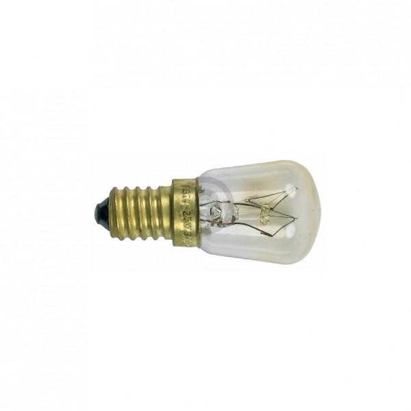 Europart Lampe E14 25W Universal 26 mm 57 mm 230V klein für Backofen Mikrowelle Kühlschrank