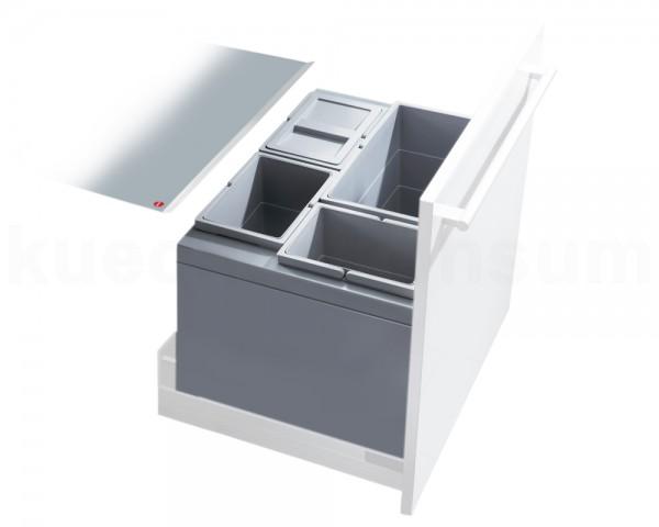 Hailo Abfallsammler 3631611 XT Inset Triple-XL 3x 10 + 24 Liter