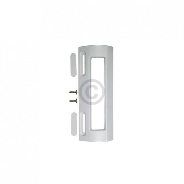 Europart Türgriff Universal weiß für 82-163 mm Schraubenabstand an Kühlschrank Gefrierschrank