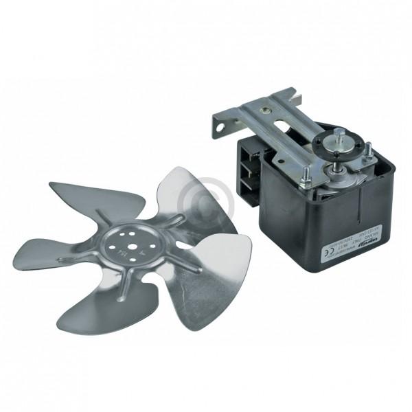 Europart Ventilator Universal 18 Watt 230 Volt klein mit Flügel 150 mm für Kühlschrank Gefrierschran
