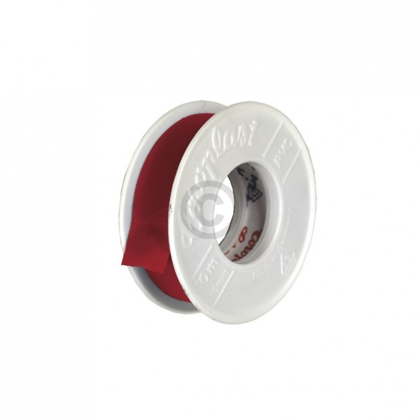 Europart Isolierband rot 10m