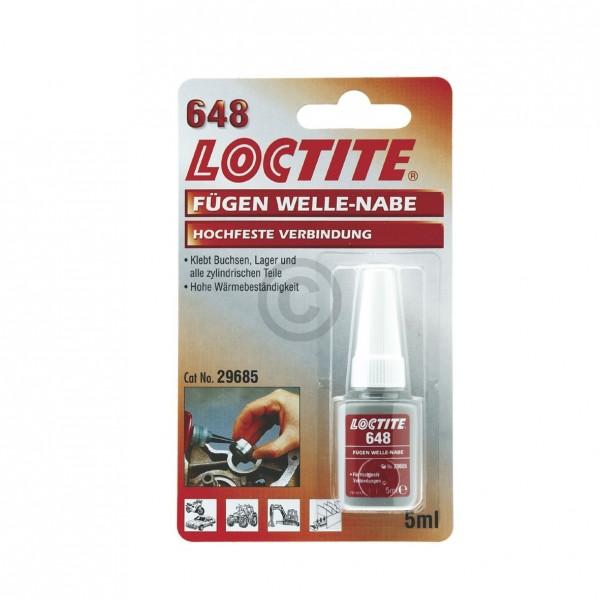 Europart Buchsenkleber Lagerkleber Loctite 648 u.a. für Laufringe in Waschmaschinen 5g