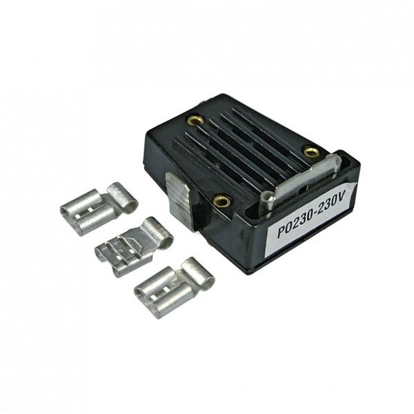 Universal Anlaufrelais 1/12 - 1/2 PS zum Stecken für Kompressor Kühlschrank Gefrierschrank