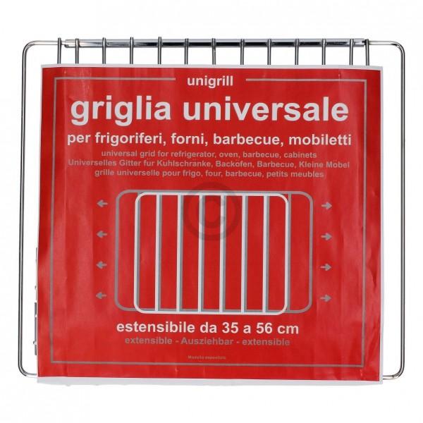 Europart Grillrost 350-560 mm ausziehbar 315 mm tief universal für Backofen Herd