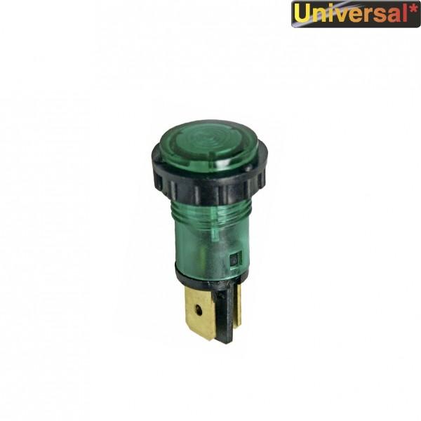 Europart Kontrolllampe grün rund 230V Universal