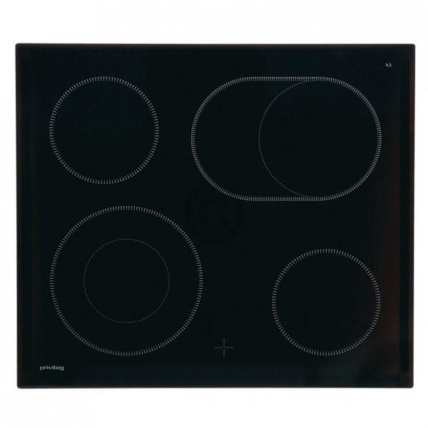 Electrolux Glaskeramikplatte Privileg 387250811/8 für Kochfeld Herd