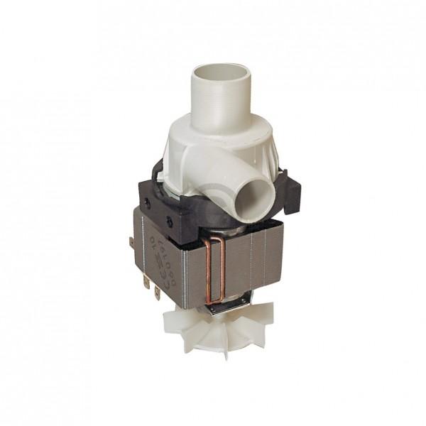 Europart Ablaufpumpe wie Bauknecht 481236018012 HANNING mit Pumpenkopf für Waschmaschine