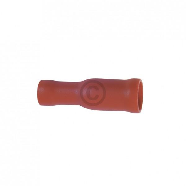 Europart Rundsteckhülse rot 4,0mm