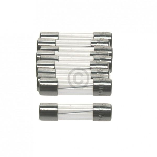 Europart DIN-Sicherung 0,4A träge 5x20mm Feinsicherung 10Stk