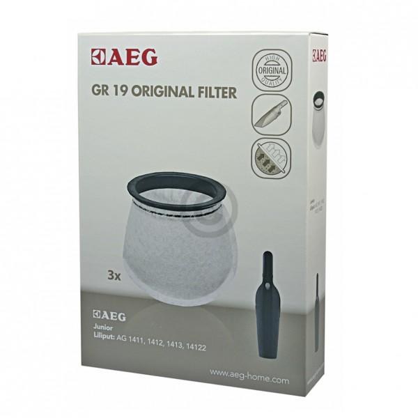 Europart Filterbeutel AEG Gr.19 Electrolux 900087602/0 3 Stk