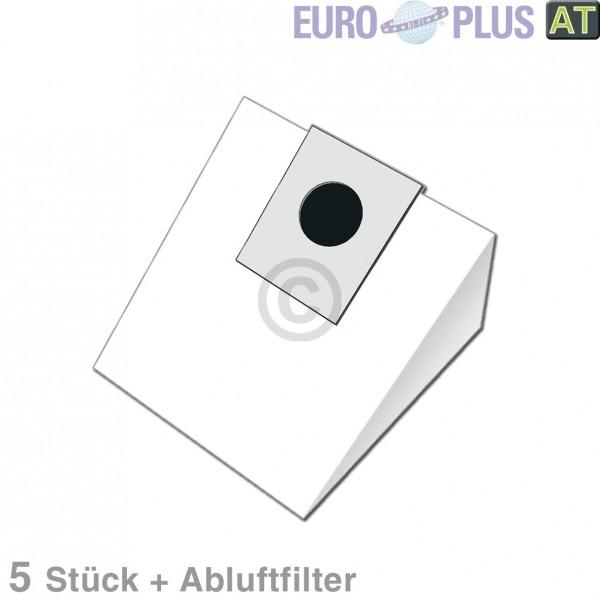 Europart Filterbeutel Europlus EIO1601 für Bodenstaubsauger 5 Stk