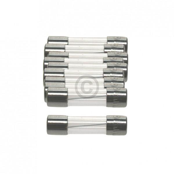 Europart DIN-Sicherung 8,0A träge 5x20mm Feinsicherung 10Stk