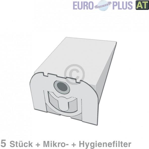 Europart Filterbeutel Europlus VO1150 u.a. für Vorwerk Tiger VK 5 Stk
