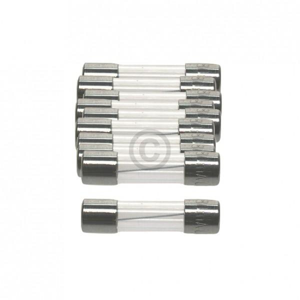 Europart DIN-Sicherung 0,25A träge 5x20mm Feinsicherung 10Stk