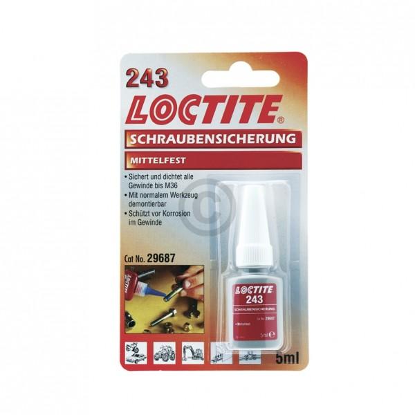 Europart Schraubensicherung 243 mittelfest Loctite 5ml