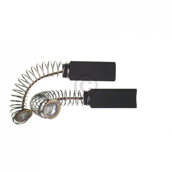 Europart Kohlen 6,4x6,4x17mm mit Kabel Feder Teller