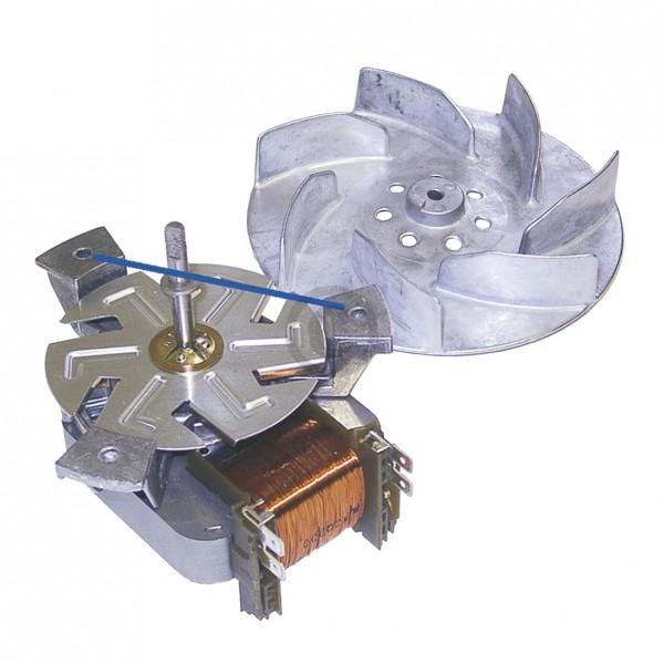 Europart Heißluftventilator NEFF 00096825 R2A150-AA33-10 mit Flügel für Backofen Herd