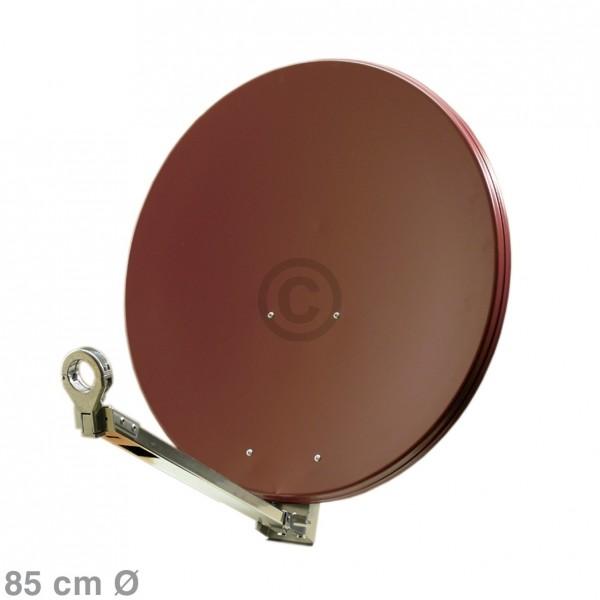 Europart SAT-Antenne 85 cm ziegelrot