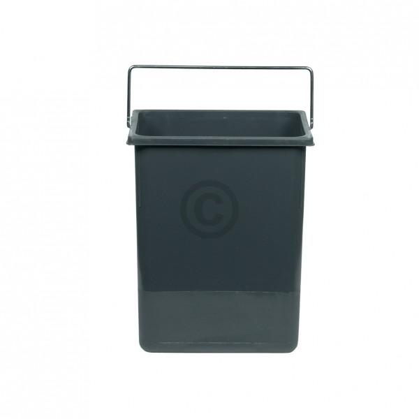 Hailo Inneneimer 226x150x287mm 8,5 Liter Hailo 1049529 dunkelgrau für Einbau-Abfallsammlersystem