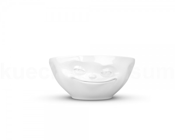 TV Tasse Schale 02.01 grinsend 350 ml weiß