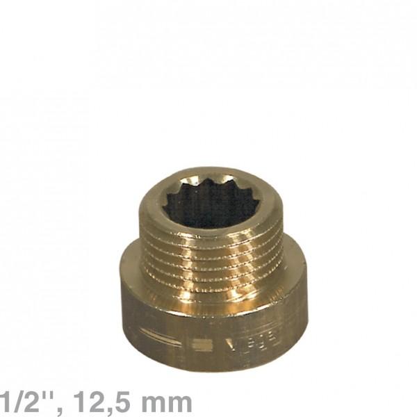 """Europart Verlängerung 1/2""""x12,5mm Rotguss"""