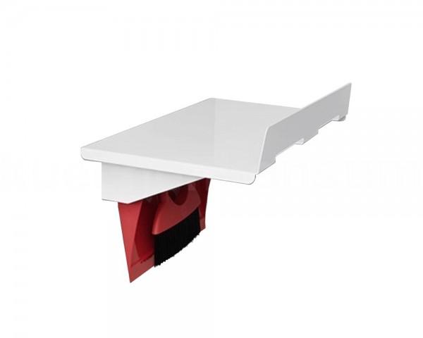 Hailo Universalablage 3271151 mit Kehrset weiß rot