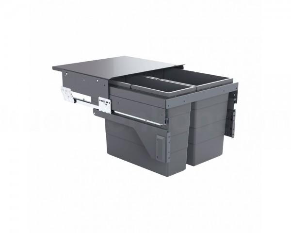 Hailo Abfallsammler 3610821 Cargo 500 Slide 45 Liter