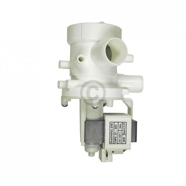 Europart Ablaufpumpe wie Foron 00154 HANNING mit Pumpenkopf und Sieb für Waschmaschine Toplader