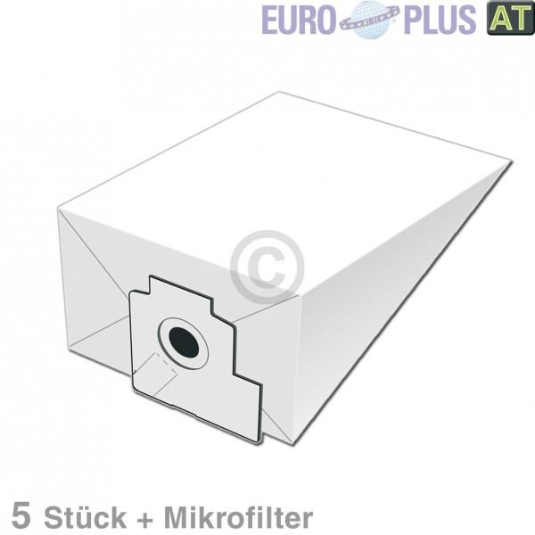 Europart Filterbeutel Europlus P2042 u.a. für Volta U, Progress 5 Stk