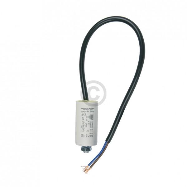 Europart Kondensator 5,00µF 450V Universal mit Anschlusskabel und Befestigungsschraube