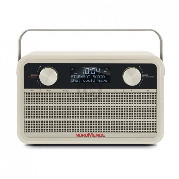 Nordmende Digitalradio 78-3001-00 Transita 120 beige Retrolook