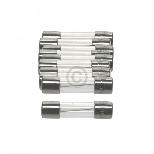 Europart DIN-Sicherung 0,2A träge 5x20mm Feinsicherung 10Stk