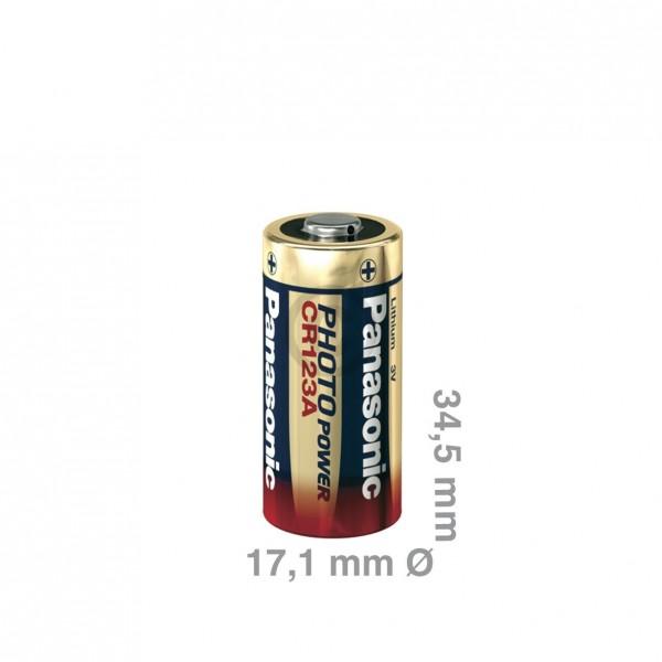 Europart Batterie CR123A Panasonic